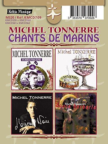 Pack 4 CD/Michel Tonnerre-TY Beudeff/Fumier d\'Baleine/l\'Oiseau Noir/Douce Barbarie