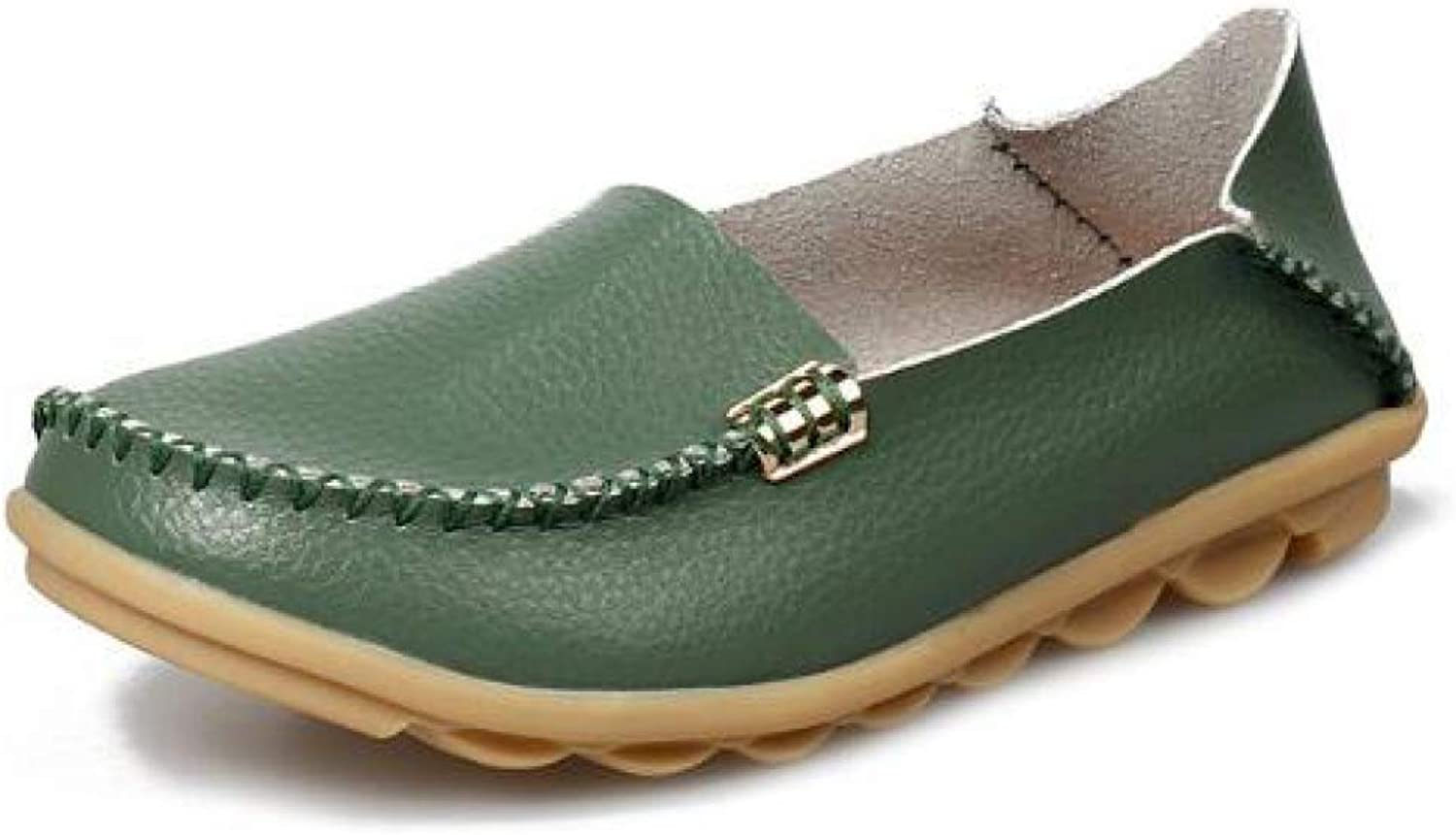 Women's Soft Flats Loafers Casual Round Toe Moccasins Wild Driving Ballet shoes