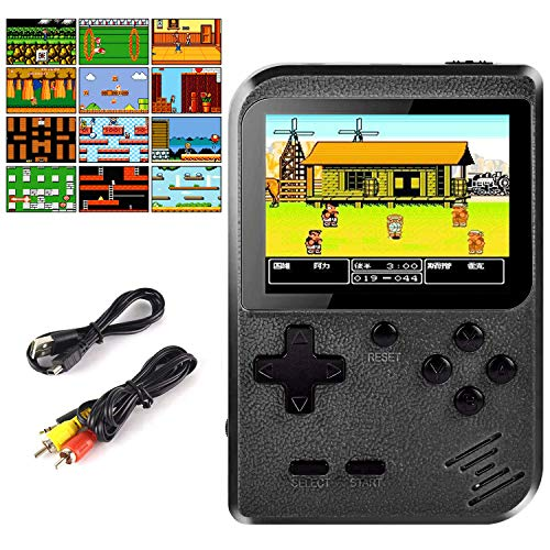 Cypin Handheld Spielkonsole Video Game Console inkl. 400 Retro Arcade Games 3 Zoll LCD Display Handheld-Spielkonsole TV-Anschluss Handheld Retro Videospielkonsole tragbar Spielkonsole süßes Geschenk