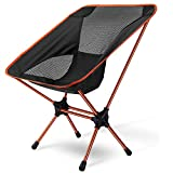 Asteri Folding Camping Chair Lightweight Portable Chairs Compact Backpacking Chair with Carry Bag for Outdoor Activities, Fishing, Hiking, Beach, Picnics