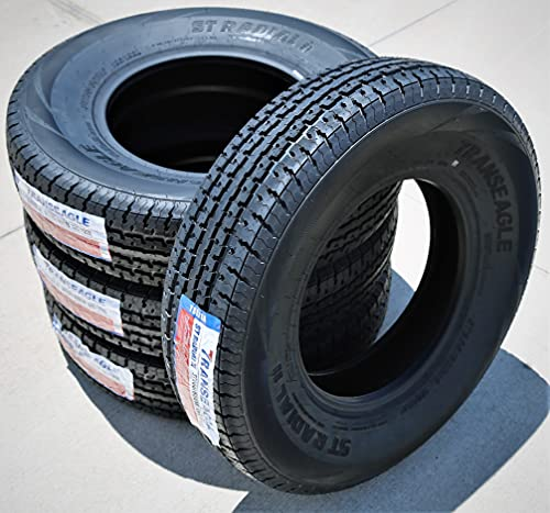 Set of 4 (FOUR) Transeagle ST Radial II Premium Trailer Radial Tires-ST235/80R16 235/80/16 235/80-16...