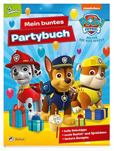 PAW Patrol: Mein buntes Partybuch: Für einen unvergesslichen Kindergeburtstag: Deko- und Bastelmaterial, Spielideen, Rezepte und vieles mehr!