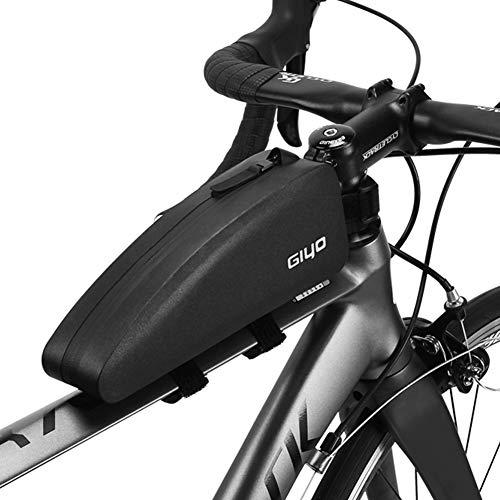 Bike Top Tube Frame Tas, Volledige Waterdichte Fiets Voorkant Frame Zakken, Grote Capaciteit Fietsen Stuur Pannier Pouch met Zip Cover, Mountain & Road Bike Pack Accessoires voor Sport Buiten