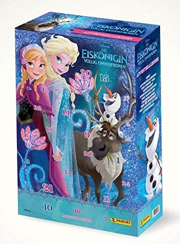Frozen - Die Eiskönigin Adventskalender 2015 mit 32 Stickertütchen PANINI (limitiert)