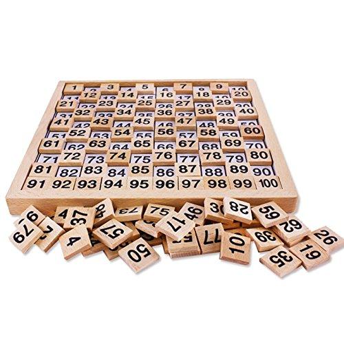 Darlinton & Sohns cijfers, leren spelletjes, kinderen, hout, spelletje, natuur, houten speelgoed