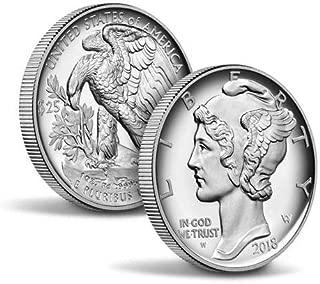 2018 W American Eagle $25 Proof