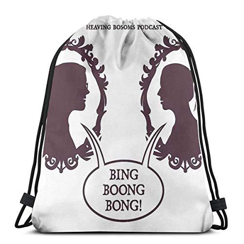 Bing Boong Bong Mochila deportiva plegable impermeable para gimnasio, con cordón