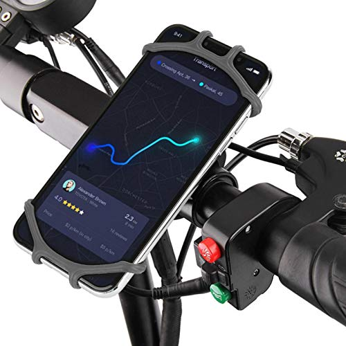 Shipenophy Mini teléfono móvil titular bicicleta teléfono titular soporte accesorios ciclismo y pesca amantes dispositivo fijo, fácil de instalar y quitar