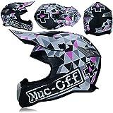 Adultos Motocross Cascos Anti caída Respirable Adolescentes Off Road Color Casco Protector Comodidad Unisex protección de Carreras Ligeras Tapas 23 Colores Opcionales