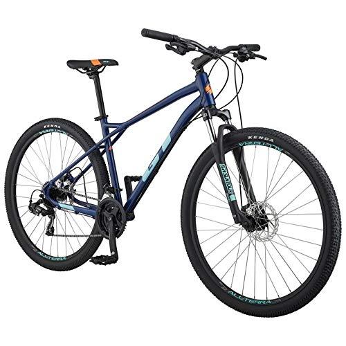 BICICLETAS GT GT 20 Aggressor Sport 27.5 OSC T-M Bicicleta Ciclismo, Adultos Unisex, Azul (Azul Oscuro)