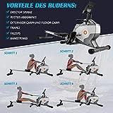 Jumper Magnetisches Rudergerät Klapp-Rudergerät mit Magnetischem Spannsystem, LED-Monitor - 5
