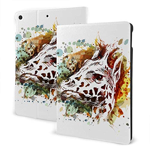 Water Surface Under The Sun Case for IPad Air 3rd Gen 10.5' 2019 / IPad Pro 10.5' 2017 Multi-Angle Folio Stand Auto Sleep/Wake for IPad 10.5 Inch Tablet-Watercolor Butterfly-One Size