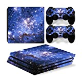 Mcbazel Pattern Series Vinyl Skin Sticker For PS4 Pro Controller & Console Protect Cover Decal Skin (Galaxy V2)