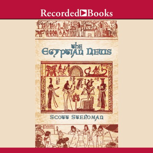 The Egyptian News audiobook cover art