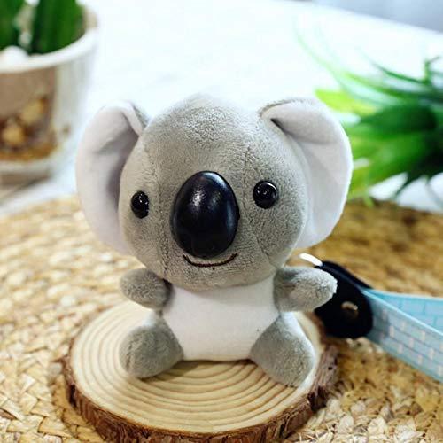 HKMB Llavero de Koala de Peluche de Juguete, muñeco de Koala de Peluche, Juguetes de imitación de Piel de Conejo, Mochila mullida, Bolsa Colgante, Juguete de Koala de Felpa, Regalos, niña, niño