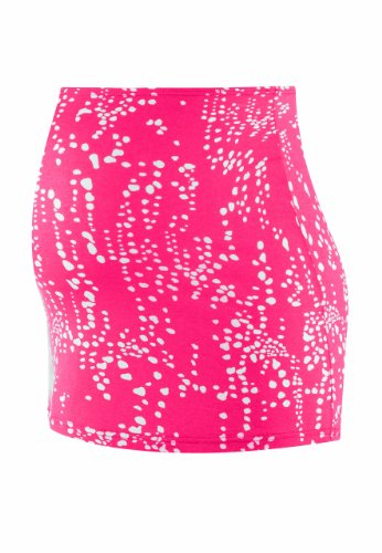 Bellybutton Damen Umstandsmode Bauchband, All over Druck 1331-31605 Tora, Gr. one size (onesize), Rot (raspberry/ white printed)