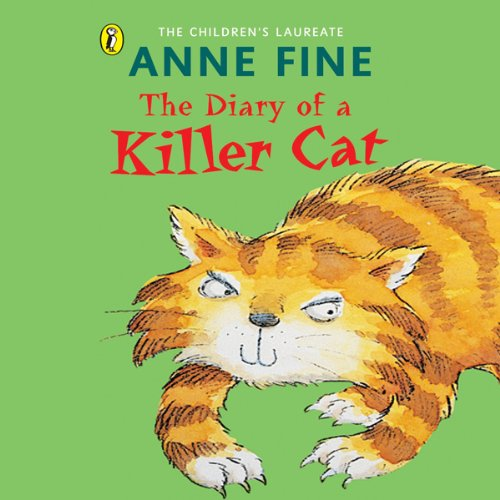 The Diary of a Killer Cat audiobook cover art
