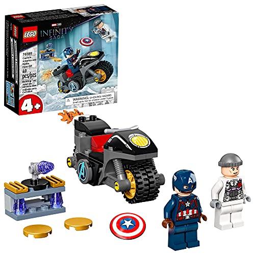 LEGO® Marvel O Confronto entre Capitão América e Hydra