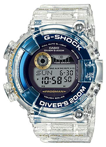 CASIO G-SHOCK GF-8251K-7JR FROGMAN Love The Sea and The Earth 25th Anniversary Reloj solar (Japón nacional genuino)