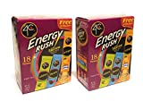 4C Energy Rush Stix   Single Serve Water Flavoring Packets   Sugar Free, with Taurine   On the Go Bundle (Variety Pack - 2pk)