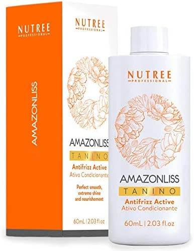 Hair Straightening Brazilian Treatment Amazonliss Tanino Smoothing Hydrating Repairing Extreme product image