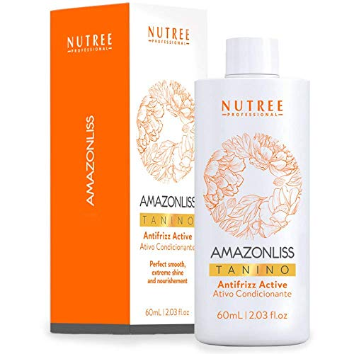 Haarglättende Brasilianische Behandlung - Amazonliss Tanino - 60 ml