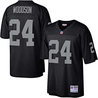 Mitchell & Ness Charles Woodson Oakland Raiders NFL Throwback Premier Jersey