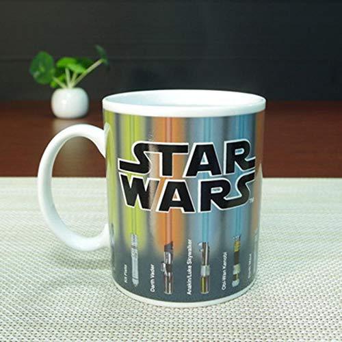 2021 Nueva Taza Que Cambia De Color Taza De Star Wars Sable De Luz Taza De Revelación De Calor Taza De Café con Cambio De Color Taza De Cerámica Sensible-Color_Changing_Mug