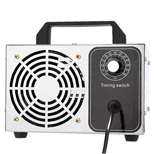 GGOOD Máquina de ozono purificador de Aire de ozono máquina Desodorante de Aire Industrial para Olor Control de la Parada de Plata 28g, Instrumento Industrial