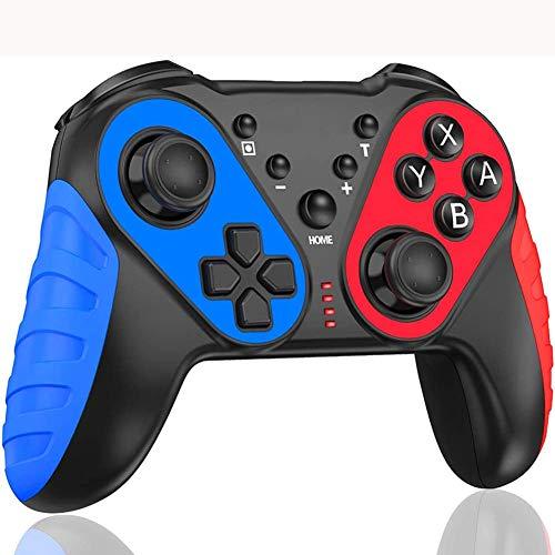 SPLLEADER Mandos Bluetooth para Switch,Controller Switch, Controlador Inalámbrico para Switch Pro, Gamepad