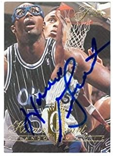 Horace Grant autographed Basketball card (Orlando Magic) 1995 Fleer Flair #276 - Autographed Basketball Cards