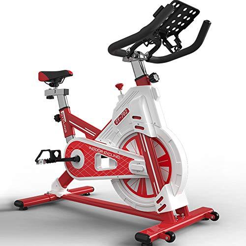KuaiKeSport Bicicleta Spinning Profesional,Indoor Cycling Electromagnético,Resistencia Variable Asiento y Manillar Ajustables Bicicleta...