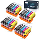OfficeWorld 225 226 Compatible Ink Cartridges Replacement for Canon PGI225XL CLI226XL, for PIXMA MG5220 MG6220 MG5320 MG6120 MX882 MG8220 (4 PG Black, 4 Cyan, 4 Magenta, 4 Yellow, 4 Black) 20 Pack