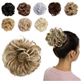 Messy Hair Bun Extensions Synthetic