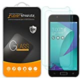 (2 Pack) Supershieldz for Asus (ZenFone V Live) Tempered Glass Screen Protector, Anti Scratch, Bubble Free