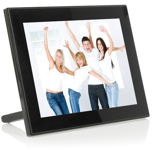 JOBO PLANO PRO Digitaler Bilderrahmen (25,4 cm (10 Zoll) Display, 4:3) schwarz