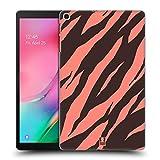 Head Case Designs Tigre De Corail Papiers Fous 2 Coque Dure pour l'arrière Compatible avec Samsung Galaxy Tab A 10.1 (2019)