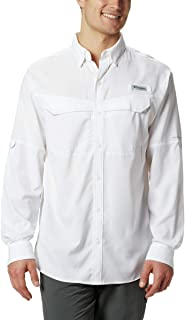 Men's Low Drag Offshore Long Sleeve Shirt, UPF 40 Protection, Moisture Wicking Fabric