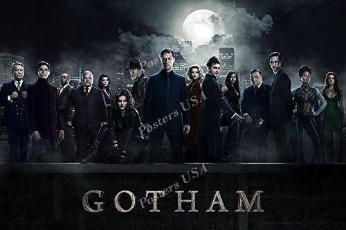 "Crime Drama TV Series Season Show 24/""x36/"" Poster 017 Gotham"