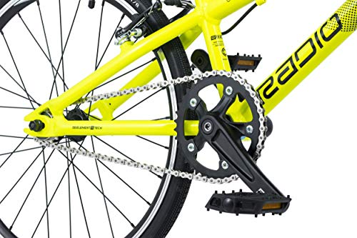 Radio Cobalt Junior 2019 Race BMX Fahrrad (18.5″ – Black/Neon Yellow) - 3