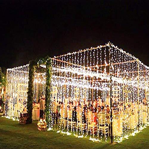 LWP Fairy Lights,10m X 3m 1000 Bulbs Led Fairy Lights, Christmas Garland Led Lights Tree Christmas Lights for Christmas Christmas Decorations Beautiful