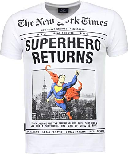 Local Fanatic Camisetas - Superhero Returns Camisetas Personalizadas -