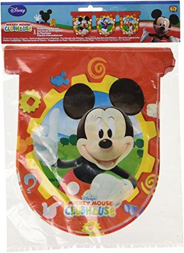 Disney Amscan Mickey Mouse Bannière