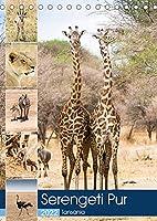 Serengeti Pur - Tansania (Tischkalender 2022 DIN A5 hoch): Wilde Tierwelt der Serengeti (Monatskalender, 14 Seiten )
