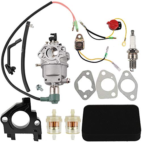 Dalom Carburetor w Tune Up Kit Air Filter for Harbor Freight Predator 69671 68530 68525 69672 69674 68529 68526 420CC Portable Generator