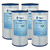 Tier1 Hayward C2025, SwimClear C2020 C2025, Filbur FC-1235, Pleatco PA50SV, Unicel C-7447 Comparable Replacement Pool and Spa Filter Cartridge (4-Pack)
