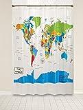 Duschvorhang Warner Bros. Batman Chi Mikrofaser Shower Curtain Textil Vorhang Anti-Schimmel Wasserabweisend Showercurtain 150*180Cm Top Qualität Wasserdicht, Anti-Schimmel-Effekt 3D Digitaldruck