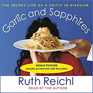 Garlic and Sapphires audiobook cover art