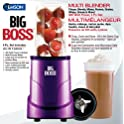 Big Boss 8867 4-Piece 300-watt Personal Countertop Blender