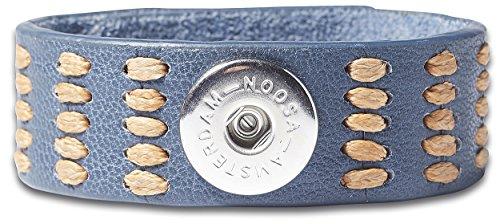 NOOSA ORIGINAL Armband INDIGO LOVE LIFE jean Größe M